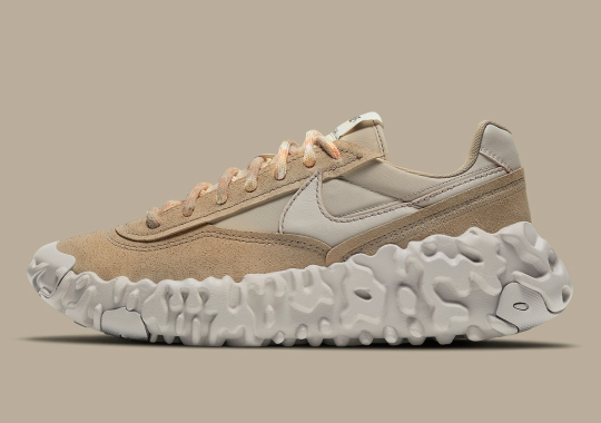 The Nike Overbreak SP Appears In Earthy Tan And Beige Hues