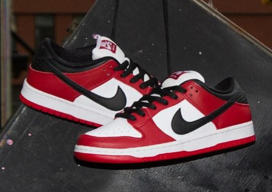 "Nike SB Dunk Low ""Chicago"" Hitting US Skateshops"
