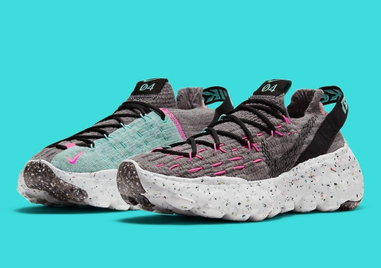 Nike Outfits the Space Hippie 04 With South Beach-Inspired Accents