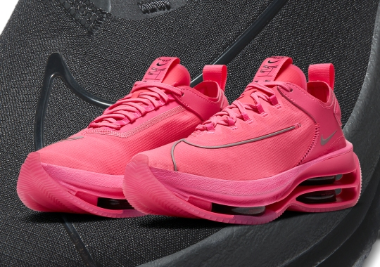The Nike Zoom Double Stacked For Women Features Shadow Lines Of The Swoosh