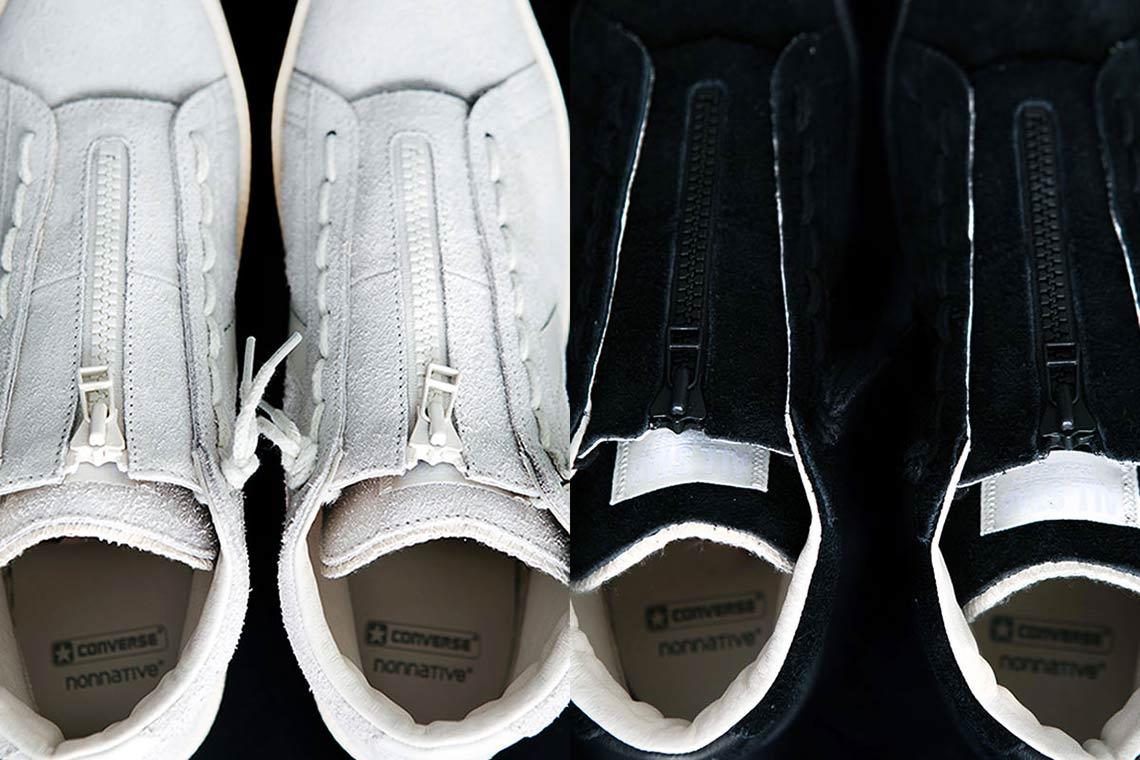 nonnative Converse Pro Leather Black