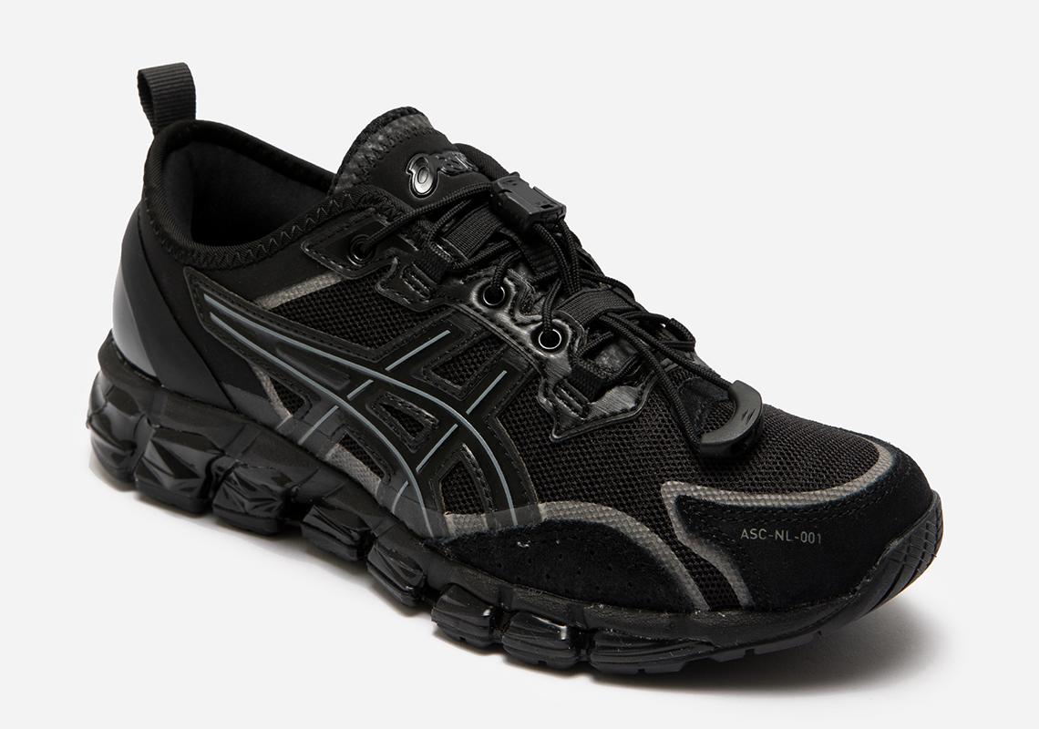 Nu Label ASICS Gel Quantum 360 6 Black   SneakerNews.com