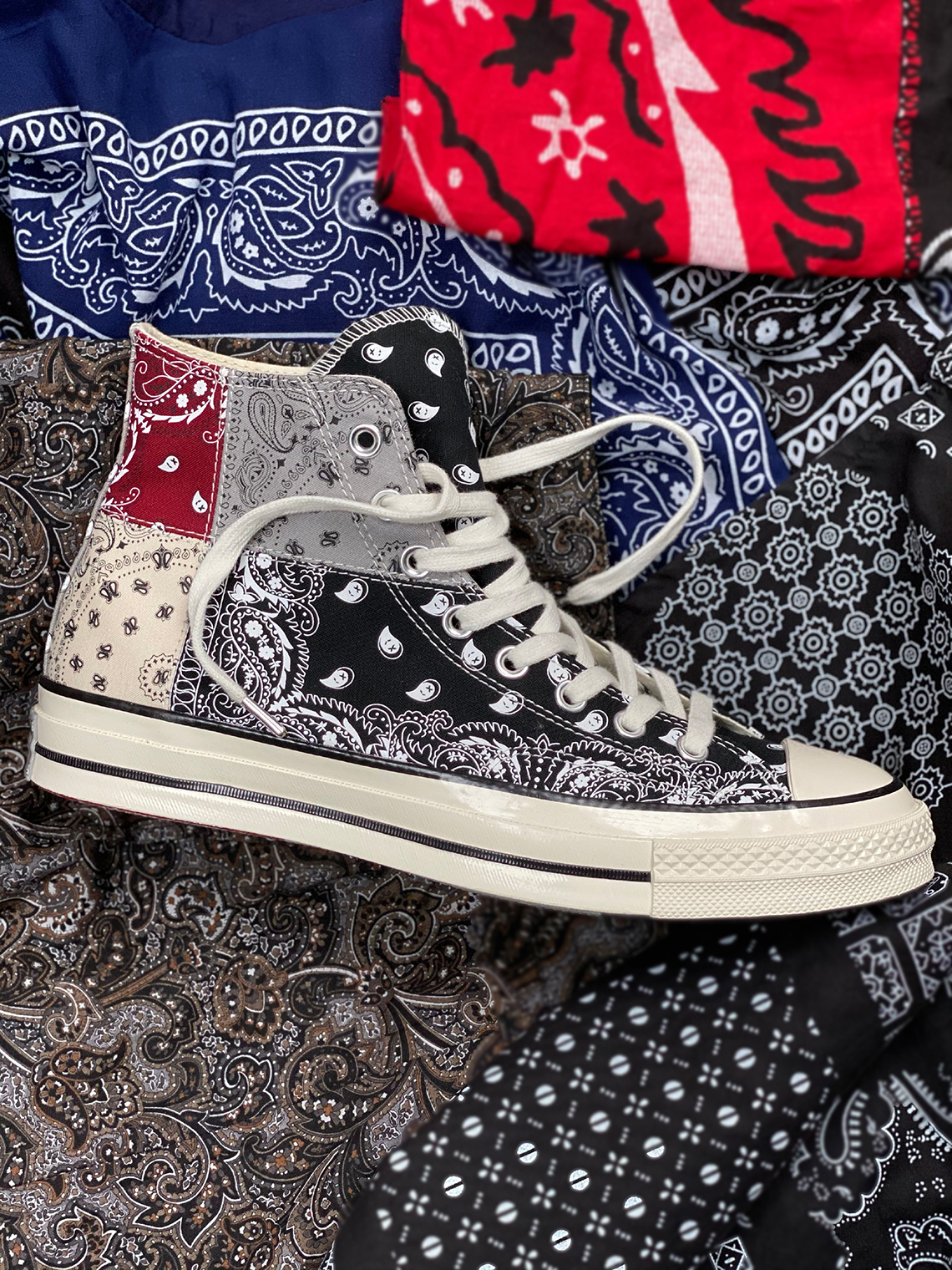 Offspring X Converse Bandana Paisley Blocking Chuck 70