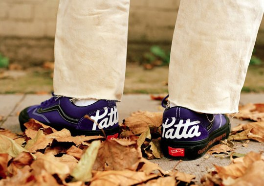 PATTA Adds Its Bold Script On The Heels Of Its Latest Vans Vault Capsule