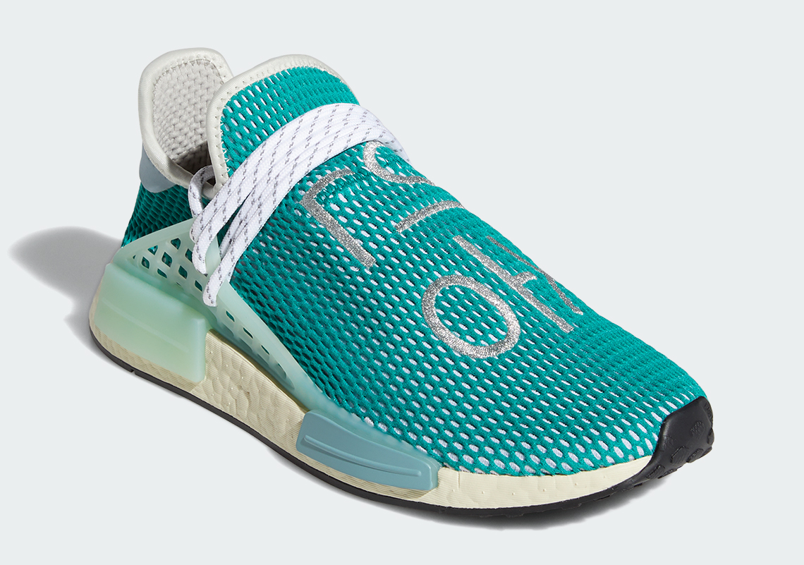 Pharrell adidas NMD Hu Dash Green