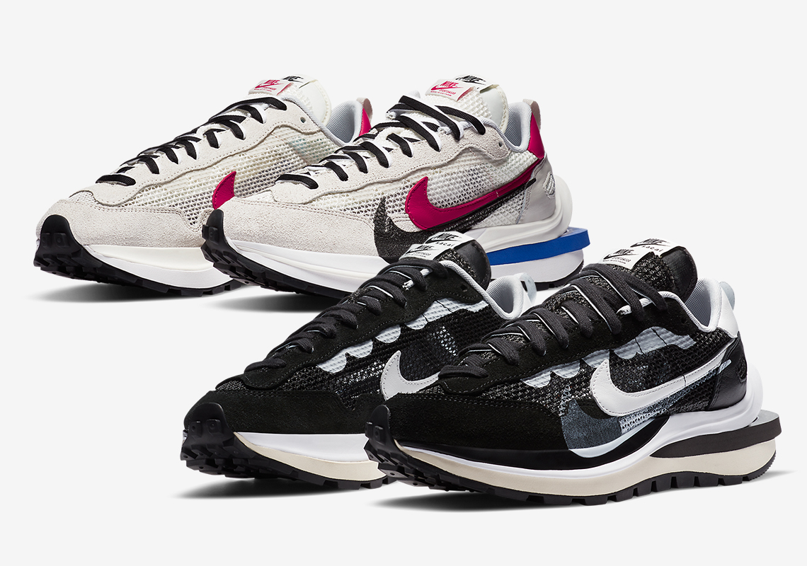 sacai Nike Vaporwaffle CV1363-001 CV1363-100 Release Date ...