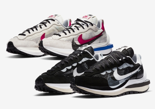Official Images Of The sacai x Nike Vaporwaffle