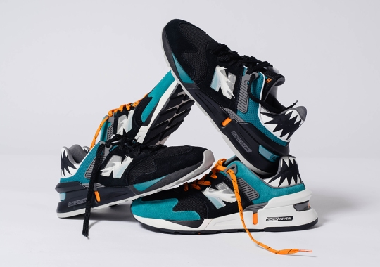 Shoe Palace Honors The Great White Shark And Its Hunting Grounds With The New Balance 997S