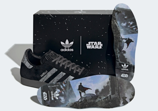 The Legendary Darksaber Is Wielded By The adidas Gazelle