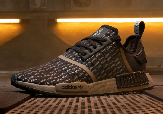 Another adidas NMD R1 For The Mandalorian Features Armor Patterns On The Mesh Exterior