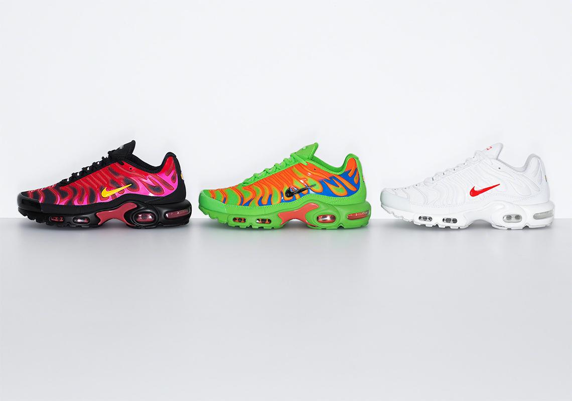 Supreme Nike Air Max Plus Release Date | SneakerNews.com