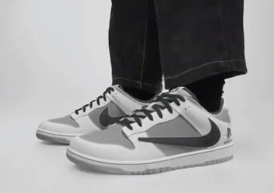 Travis Scott x PlayStation x Nike Dunk Low Revealed