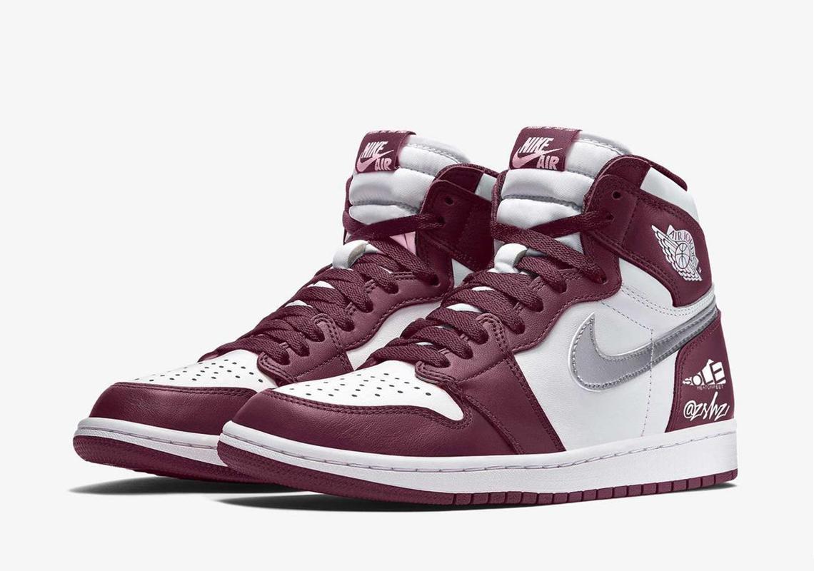 """Air Jordan 1 """"Bordeaux"""""""