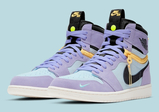 """First Look At The Air Jordan 1 High Switch """"Purple Pulse"""""""