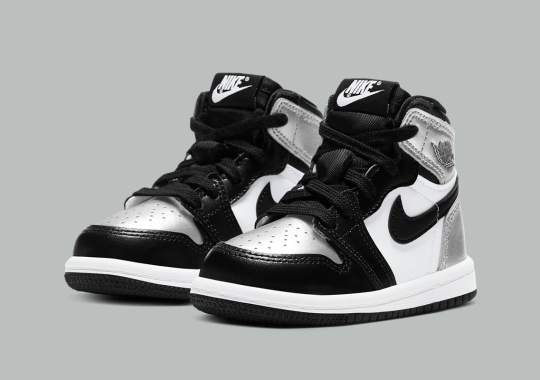 "Air Jordan 1 Retro High OG ""Silver Toe"" Dropping In Toddler Sizes"