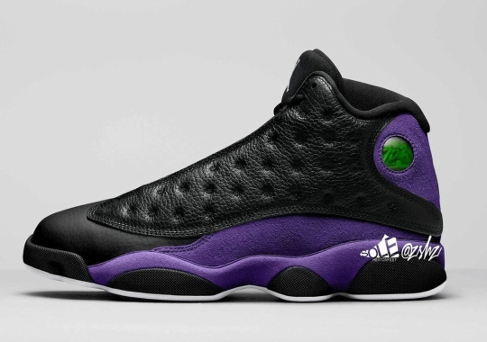 "The Air Jordan 13 ""Court Purple"" Slated For Fall 2021 Release"