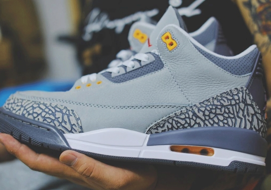 """First Look At The Air Jordan 3 """"Cool Grey"""" 2021 Release"""