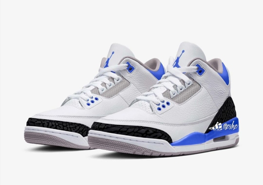 "Air Jordan 3 ""Racer Blue"" Coming In July 2021"