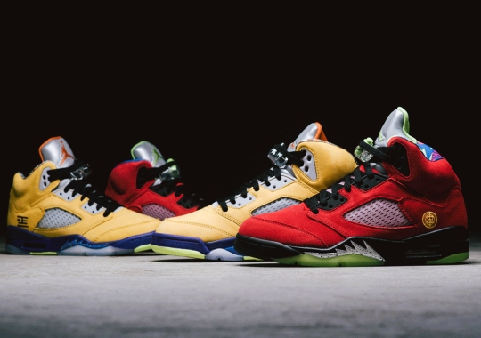 """The """"What The"""" Air Jordan 5 Retro SE Releases Tomorrow In The US"""