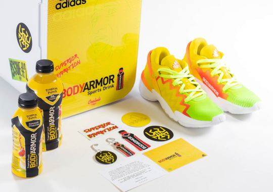 Donovan Mitchell, Fresh Off Massive Contract Extension, Gets His adidas Shoes Made After Favorite BODYARMOR Flavor