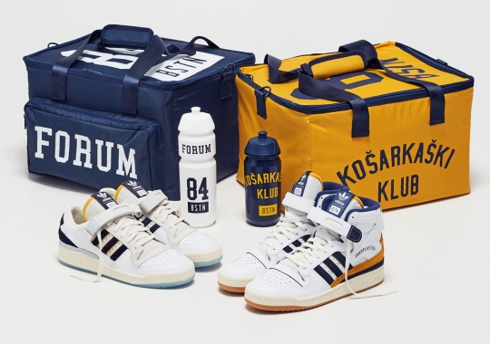 """BSTN Continues The adidas Forum Resurgence With The """"Ćevape & Fries"""" Twin Pack"""