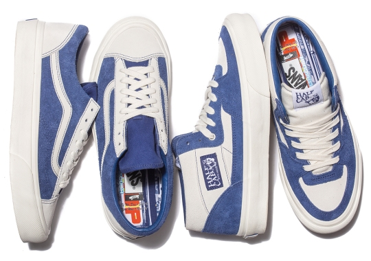 Toronto's Better Gift Shop Delivers Two Blue Suede Options With Vault By Vans Collaboration