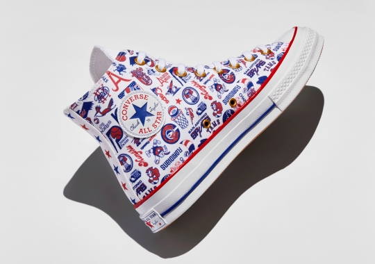 Converse Hoops Honors The 45th Anniversary Of The NBA/ABA Merger With Select Footwear Capsule