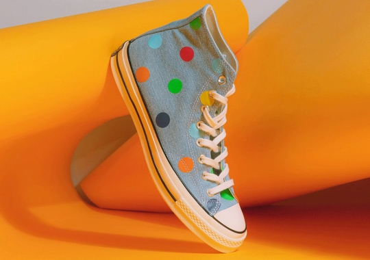 Tyler, The Creator Adds Polka Dots On Blue Denim To The Golf Wang x Converse Chuck 70