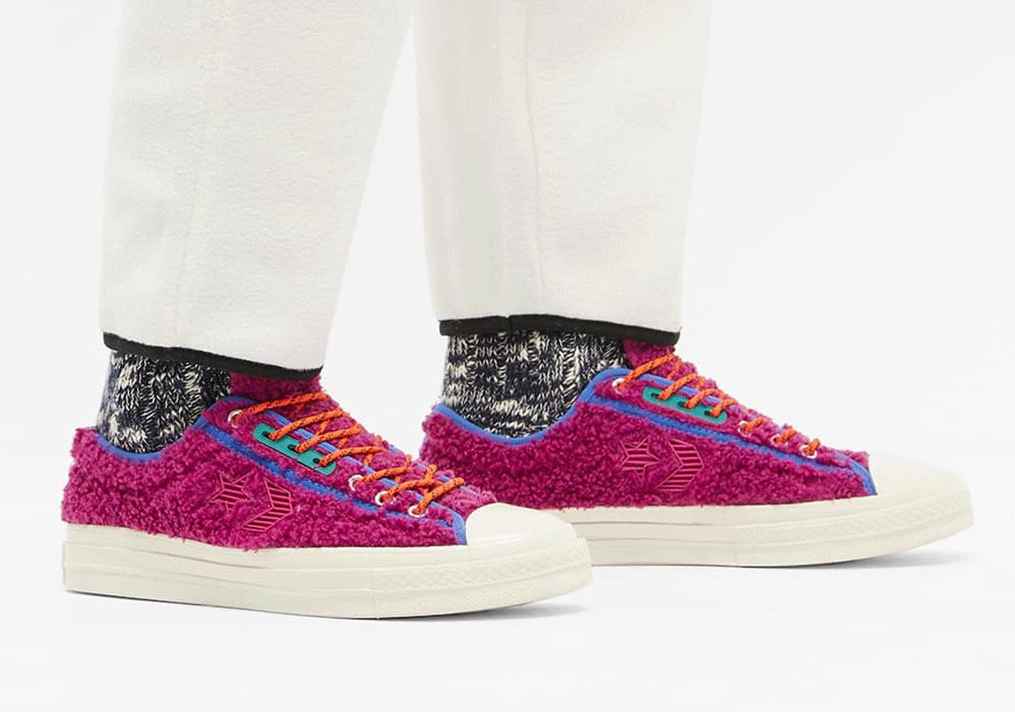 Converse Star Player Ox Bouclé Swan Cactus Flower | SneakerNews.com
