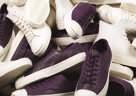 """Pop Trading Co. Applies """"Dragon Skin"""" To The Converse Jack Purcell"""