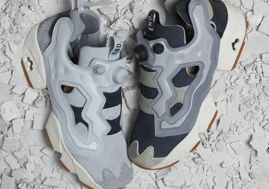 """END. Rewinds To Prehistoric Times With The Reebok Instapump Fury """"Fossil"""" Pack"""
