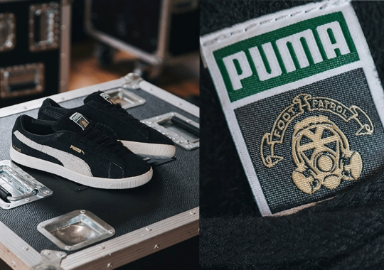 Footpatrol Adds Gold Accents To Its 200-Pair PUMA Suede Collaboration