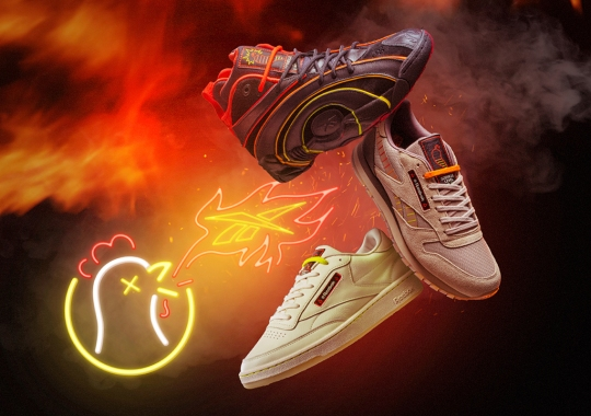 Hot Ones And Reebok Bring Up The Heat With The Club C, Classic Leather, And Shaqnosis