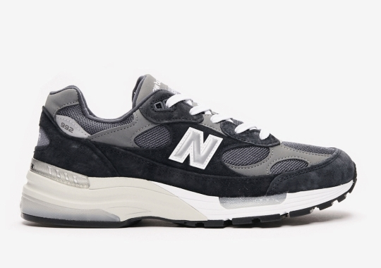 The New Balance 992 In Navy Is Dropping On December 1st