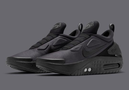 Nike Adapt Auto Max Arriving In Triple-Black
