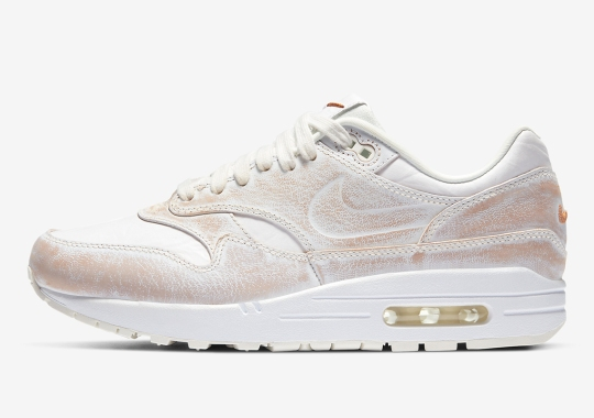 This Nike Air Max 1 Features Wearaway Uppers, Revealing Secondary Color Beneath