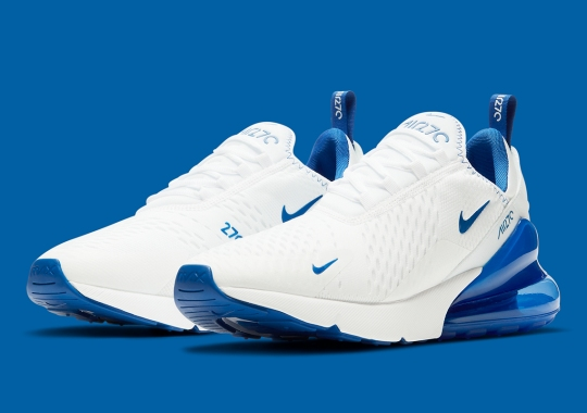 The Nike Air Max 270 Dresses Up In Kentucky-Friendly Colors