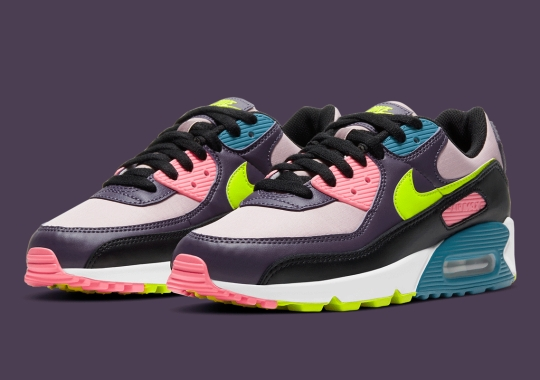 The Nike Air Max 90 Appears With High-Vis Accents
