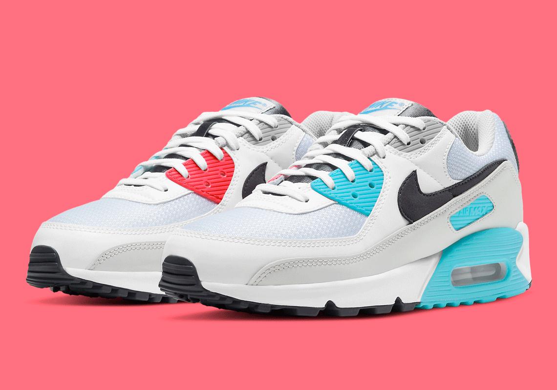 Nike Air Max 90 Iron Grey Chlorine Blue CV8839-100   SneakerNews.com