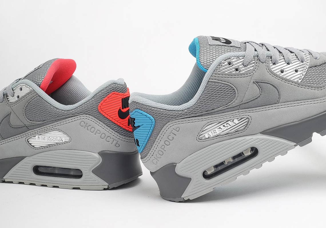 Nike Air Max 90 Moscow DC4466-001 Release Info | SneakerNews.com
