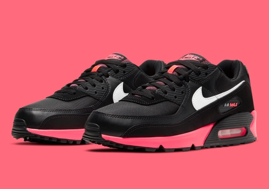 "The Nike Air Max 90 Continues Its 30th Anniversary Celebration With ""Racer Pink"" Accents"