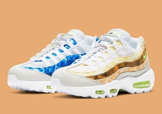 Nike Applies Multicolored Patterns To The Air Max 95