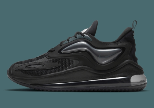 Black And Anthracite Cover This Upcoming Nike Air Max Zephyr