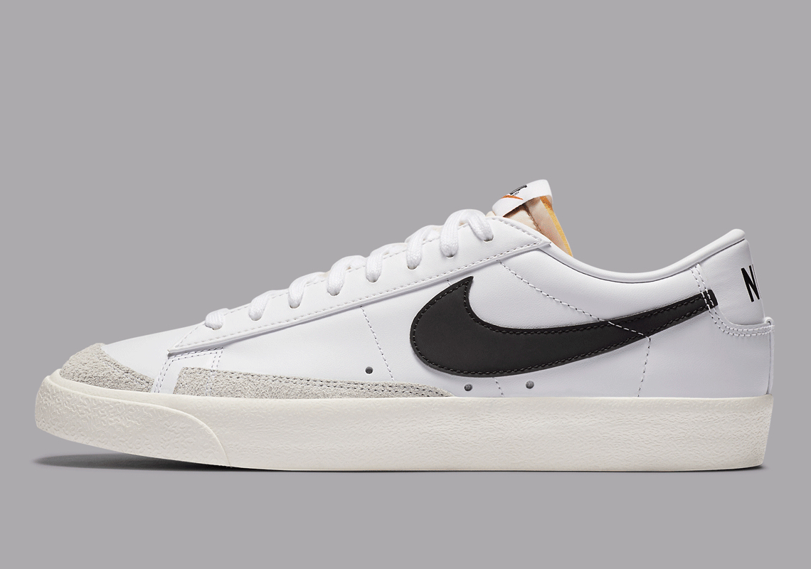 Nike Blazer Low White Black DA6364-101 Release | SneakerNews.com