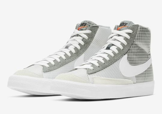 Nike Upholsters The Blazer Mid '77 In A Mix Of Materials