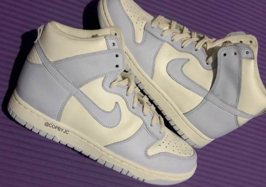 """The Women's Nike Dunk High """"Pale Ivory"""" To Release Early 2021"""