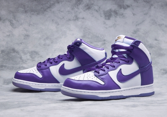 "Where To Buy The Nike Dunk High SP ""Varsity Purple"""