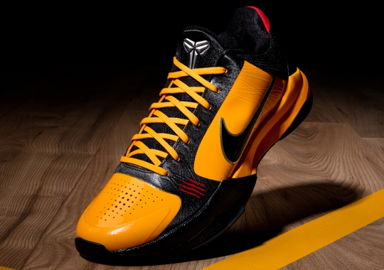 "The Nike Kobe 5 Protro ""Bruce Lee"" Releases Tomorrow"