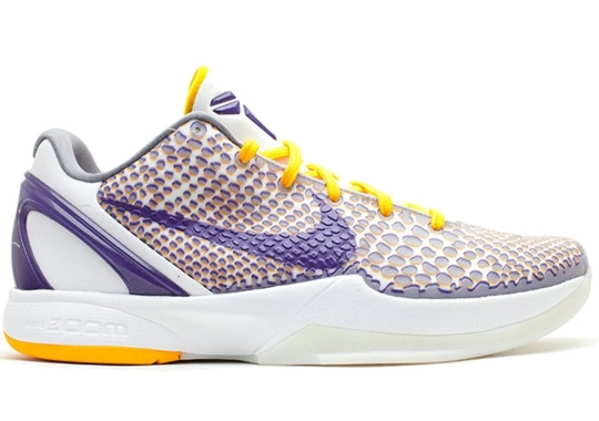 """The Nike Kobe 6 """"3D Lakers"""" To Return In 2021"""