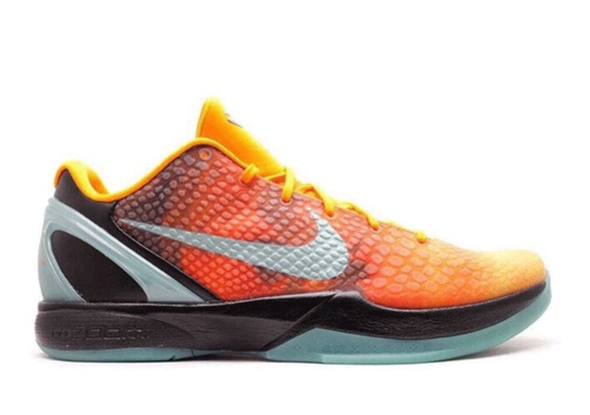 """The Nike Kobe 6 """"Orange County"""" From 2011 Is Slated For Protro Treatment In Fall 2021"""